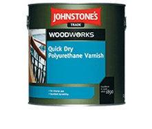 Лак JOHNSTONE'S Quick Dry Floor Varnish Satin полуматовый 2,5 л