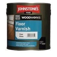 Лак JOHNSTONE'S Floor Varnish Gloss на растворителе глянцевый 2,5 л