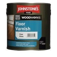 Лак JOHNSTONE'S Floor Varnish Satin на растворителе полуматовый 2,5 л