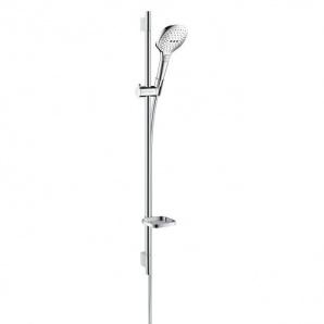 Душовий набір Hansgrohe Raindance Select E 120 EcoSmart/Unica'S Puro 90 см (26623000)