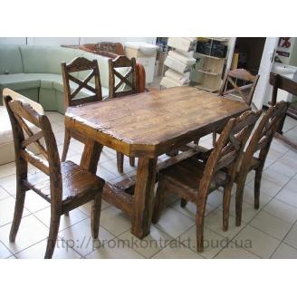 Меблі дерев'яні состаренная
