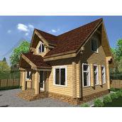 Будинок з профільованого 180 ММ Проект D-11