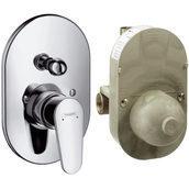 Смеситель для ванны Hansgrohe Talis E² хром (31688000)