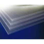 Поликарбонат сотовый Marlon ST Longlife 12000х2100х6 мм прозрачный
