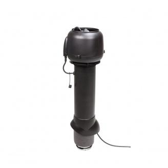 Вентилятор VILPE E120 P 125х700 мм черный