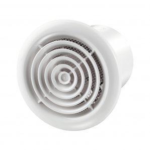 Осьовий вентилятор для витяжної вентиляції VENTS ПФ1 125 турбо 232 м3/ч 24 Вт