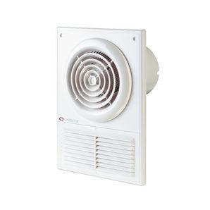 Осьовий вентилятор для витяжної вентиляції VENTS Ф1 100 12 88 м3/ч 14 Вт