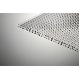 Сотовый поликарбонат Polygal Стандарт 6000х2100х10 мм прозрачный