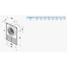 Осьовий вентилятор для витяжної вентиляції VENTS Ф1 100 100 м3/ч 14 Вт