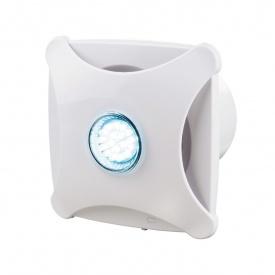 Осьовий декоративний вентилятор VENTS Х стар 125 164 м3/ч 16 Вт