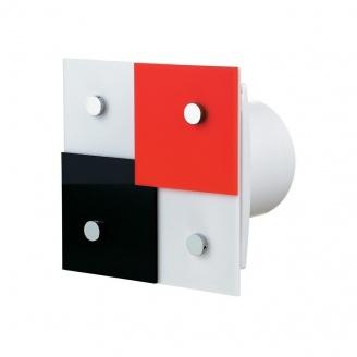 Осевой декоративный вентилятор VENTS Домино 125 турбо 209 м3/ч 24 Вт