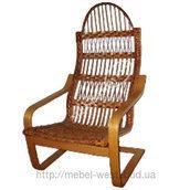Кресло-качалка Амортизатор из лозы 73х73х114 см