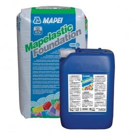 Двокомпонентна гідроізоляція MAPEI MAPELASTIC FOUNDATION 32 кг
