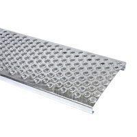 Решітка безпеки Terran оцинкована сталь 250х800 мм