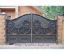 Входные ворота кованые