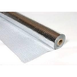 Плівка пароізоляційна тепловідбивна армована MASTERFOL SOFT ALU 1,5х50 м фольгированная 75м2
