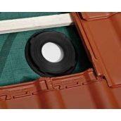 Уплотнительное кольцо BRAAS Duro Vent DN 125 черное
