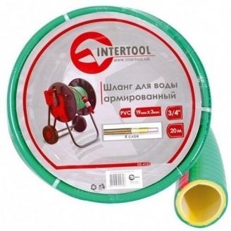 Шланг для воды Intertool 20 м армированный (GE-4103)