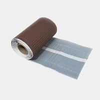 Лента примыкания алюминиевая Terran Easy Fasy 300х5000 мм коричневая
