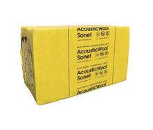 Акустическая минеральная вата AcousticWool Sonet 1000x600x50 мм