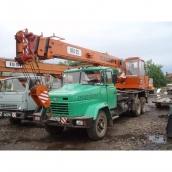 Оренда автокрана КТА-25 25 т
