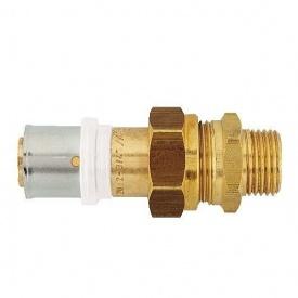 З'єднання роз'ємне HERZ прес х зовнішня різьба з накидною гайкою 50х4-3/2 (P705065)