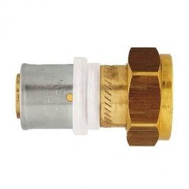 З'єднання нерознімне HERZ прес х внутрішня різьба з накидною гайкою 50х4-Rp1 1/2 (P705025)