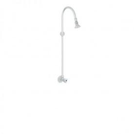 Настінний водопровідний кран Classic з фіксованим душем хром (UH10452)