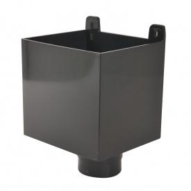 Воронка зливоприймаюча Nicoll 25 ПРЕМІУМ 80 мм темно-сірий