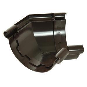 Кут ринви 135° Nicoll 25 ПРЕМІУМ 115 мм коричневий