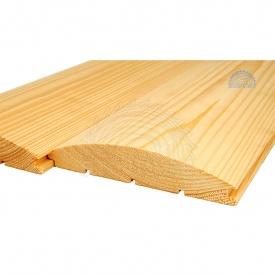 Блок-хаус деревянный срощенный сосна 33х146 мм
