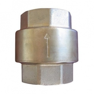 Клапан обратный HERZ пружинный муфтовый 2
