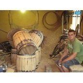 Деревянная бочка для вина и виски 100 л