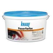 Краска Knauf Faserfarbe тонированная 12,5 л