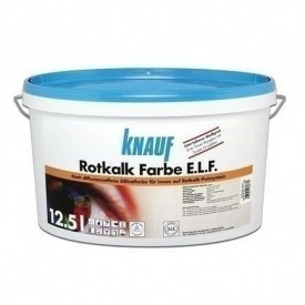 Краска Knauf Rotkalk Farbe 12,5 л