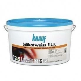 Краска Knauf Silikatweiss E.L.F. 12,5 л