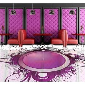 Дизайн интерьера ресторанов c наливным полом