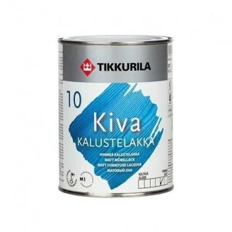 Акрилатный лак для мебели Tikkurila Kiva kalustelakka himmea 9 л матовый