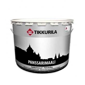 Алкидная краска Tikkurila Panssarimaali 0,9 л полуглянцевая
