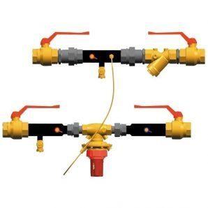 Монтажний комплект регулятора перепаду тиску HERZ FIX-23 4007 FWW DN 25 (1450015)