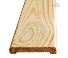 Наличник деревянный сосна не шпонированный 12х60 мм