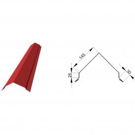 Планка конька фигурная 2 м