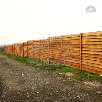 Доска сухая строганная на забор деревянный 25х100 мм