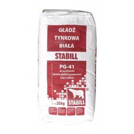 Гипсовая шпаклевка Stabill PG-41 20 кг