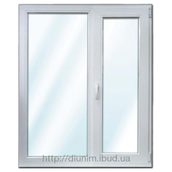 Металлопластиковое окно из профиля Windom с однокамерным стеклопакетом
