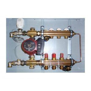 Модуль підлогового опалення HERZ COMPACTFLOOR Light 6 відводів (3F53326)