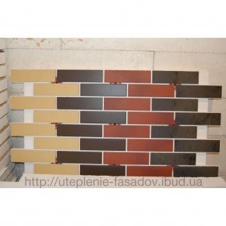 Клинкерная термопанель 40 мм коричневая
