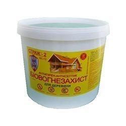 Антисептична вогнебіозахист Страж-2 1 кг