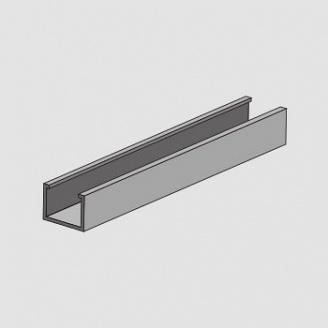 Профиль вертикальный внутренний для системы вентилируемого фасада Силта-Брик «Брикстоун» 0,8 мм 4 м