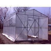 Теплиця з полікарбонату 3х6 м прозора